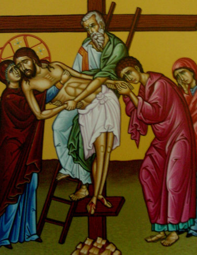 Painting - Station of the Cross