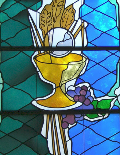 Stained Glass - Eucharist
